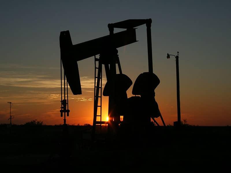 Oljepriset på högsta nivån - oljeplattformar