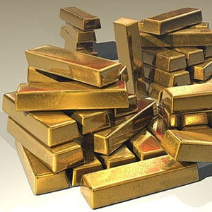 Guld säljs av centralbanker thumb