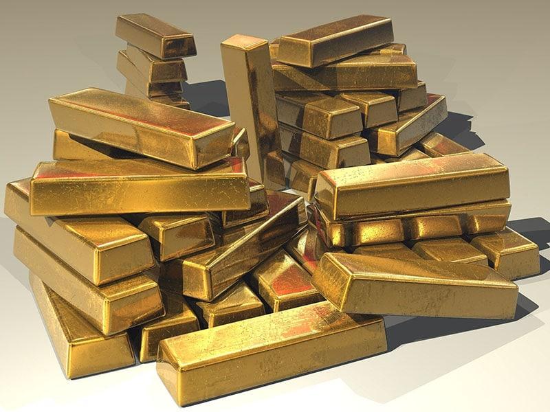 Guld säljs av centralbanker